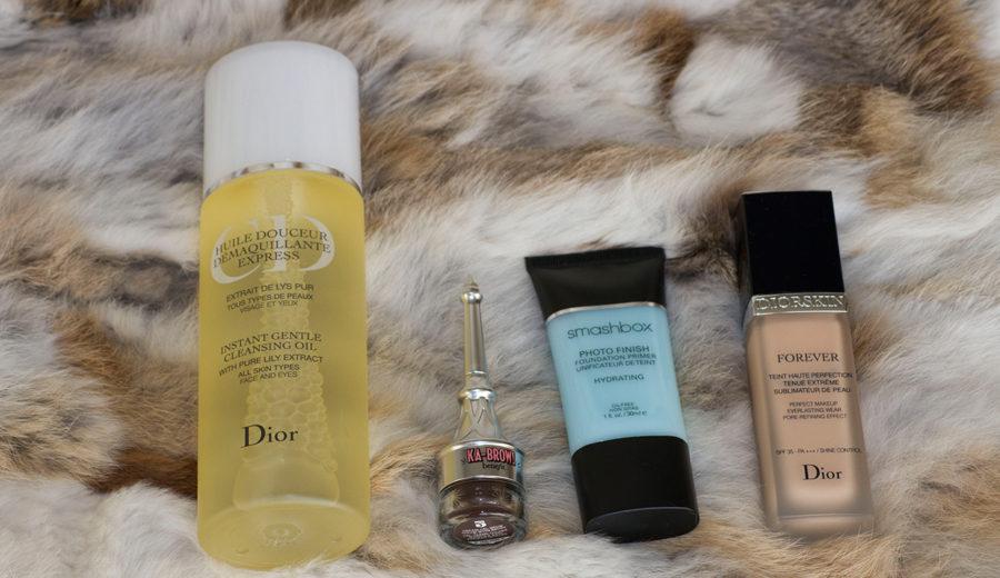 Benefit Cosmetics, Smashbox en Dior