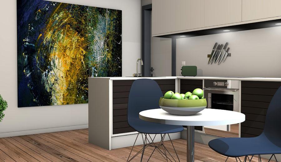 Fleur je huis op met glasschilderijen