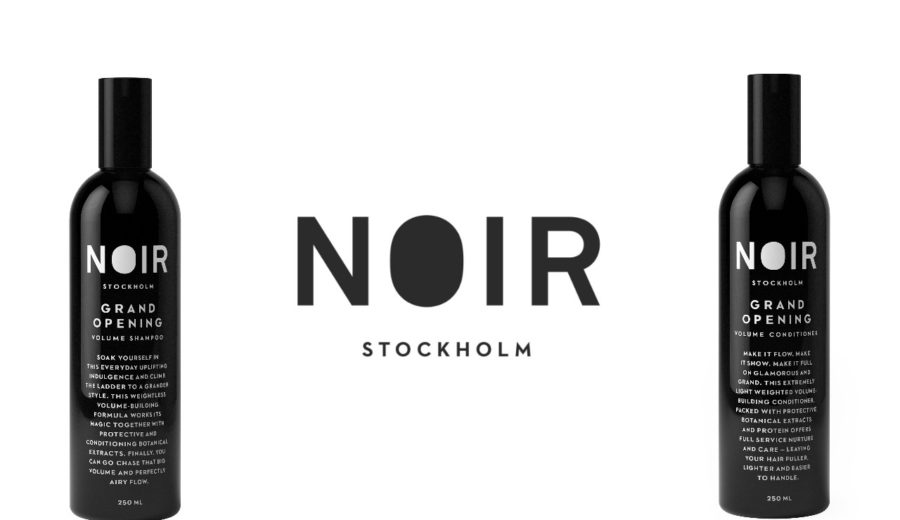 Noir Stockholm grand Opening shampoo & conditioner