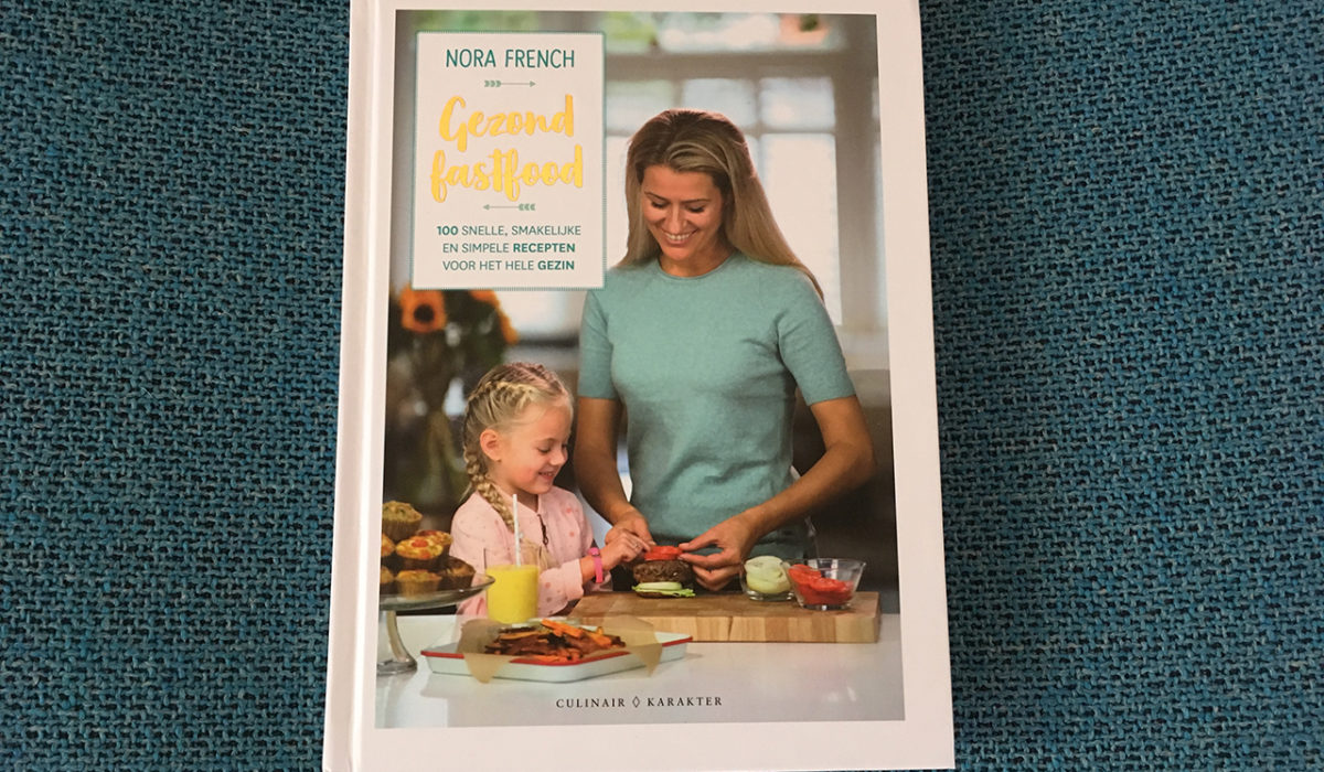 Review: 'Gezond Fastfood' van Nora French